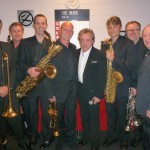 the horn section With Frankie Valley